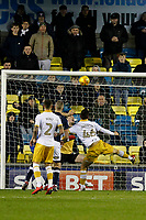 GOAL - Lee Gregory of Millwall scores to make it 1-1 during the Sky Bet Championship match between Millwall and Sheff Wednesday at The Den, London, England on 20 February 2018. Photo by Carlton Myrie.