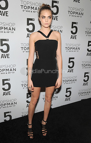 New York, NY-  November 4: Cara Delevingne attend the Topshop Topman Dinner in Celebration of the 5th Avenue New York Flagship store on November 4, 2014 at Vanderbilt Hall in Grand Central Terminal in New York City. Credit: John Palmer/MediaPunch