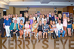 BIRTHDAY GIRL: Betty O'Sullivan, Spa Road, Tralee (seated 5th left) got a big surprise when a large group of family and friends gathered to celebrated her 50th birthday with family and friends at the Carlton hotel, Tralee on Saturday.