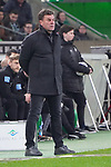 15.03.2019, Borussia Park , Moenchengladbach, GER, 1. FBL,  Borussia Moenchengladbach vs. SC Freiburg,<br />  <br /> DFL regulations prohibit any use of photographs as image sequences and/or quasi-video<br /> <br /> im Bild / picture shows: <br /> Dieter Hecking Trainer/Headcoach (Gladbach), ratlos ?<br /> <br /> Foto © nordphoto / Meuter