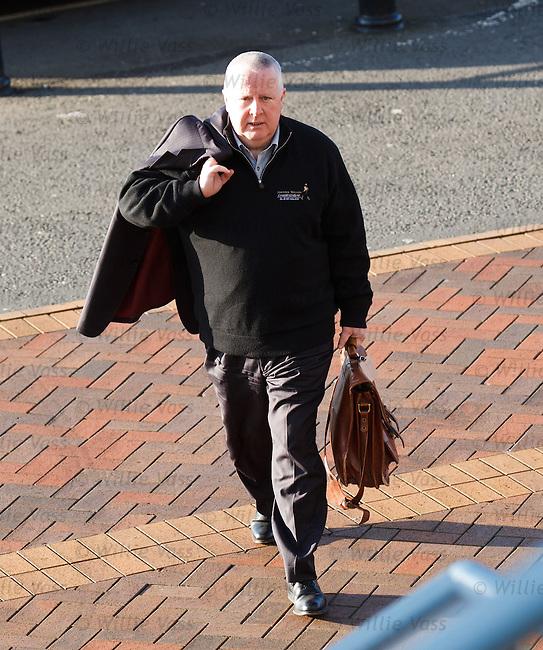 Ian Blair SPL secretary arrives