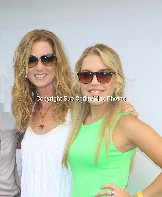 General Hospital  Kristen Alderson with OLTL Susan Haskell at SoapFest's Celebrity Weekend - Cruisin' and Schmoozin' on the Marco Island Princess - mix and mingle and watching dolphins - autographs, photos, live auction raising money for kids on November 11, 2012 Marco Island, Florida. (Photo by Sue Coflin/Max Photos)