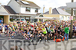 Fighting for places at the start of the Lee Strand An Riocht 10k on sunday