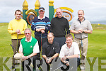 GOLFERS:.Golfers who.played in the.Captains.Charity Golf.Tournament.on Saturday.at Tralee.Golf Club..Front l-r:.Eugene.O'Callaghan,.David Power.and John.Sugrue..Back l-r:.Eddie Morrison,.Richard.Rafferty,.Anthony.Byrne and.Ivor Healy.