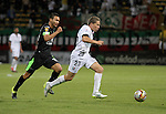 Equidad cedió terreno en su casa, el estadio metropolitano de Techo, tras caer 1-2 ante Once Caldas por la fecha 15 de la Liga Águila 2015 II.