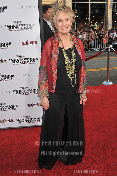 "Cloris Leachman at the Los Angeles premiere of ""Inglourious Basterds"" at the Grauman's Chinese Theatre, Hollywood..August 10, 2009  Los Angeles, CA.Picture: Paul Smith / Featureflash"