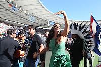 RIO DE JANEIRO, RJ, 13.06.2014 - FINAL - COPA DO MUNDO NO BRASIL - ALEMANHA X ARGENTINA - Ivete Sangalo durante partida entre Alemanha x Argentina  valido para final da Copa do Mundo do Brasil no Estadio do Maracana na cidade do Rio de Janeiro neste domingo, 13. (Foto: Vanessa Carvalho - Brazil Photo Press).
