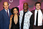 Anthony Edwards, Lauren Ridloff, Kenny Leon, Joshua Jackson attend the Broadway Opening Night After Party for 'Children of a Lesser God' at Edison Ballroom on April 11, 2018 in New York City.