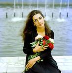 Narine Bagdasaryan, Soviet and Armenian actress.. / Нарине Багдасарян, советская и армянская актриса.