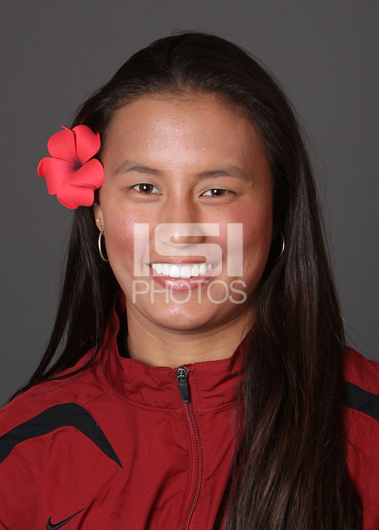 STANFORD, CA - OCTOBER 22:  Kim Hall of the Stanford Cardinal during water polo picture day on October 22, 2009 in Stanford, California.