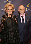 Christine Ebersole and Bill Mohney attends the 2017 Drama Desk Awards at Town Hall on June 4, 2017 in New York City.