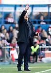 Atletico de Madrid's second coach German Mono Burgos during La Liga match. April 30,2016. (ALTERPHOTOS/Acero)