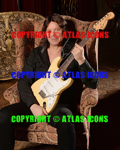 FORT LAUDERDALE FL - FEBRUARY 02: John Norum of Europe poses for a portrait at Revolution on February 2, 2016 in Fort Lauderdale, Florida. Photo by Larry Marano © 2016
