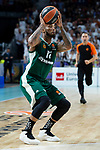 Panathinaikos Marcus Denmon during Turkish Airlines Euroleague Quarter Finals 3rd match between Real Madrid and Panathinaikos at Wizink Center in Madrid, Spain. April 25, 2018. (ALTERPHOTOS/Borja B.Hojas)