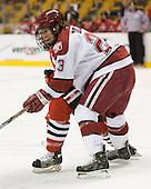 Mike Taylor (Harvard - 23) - The Northeastern University Huskies defeated the Harvard University Crimson 3-1 in the Beanpot consolation game on Monday, February 12, 2007, at TD Banknorth Garden in Boston, Massachusetts.