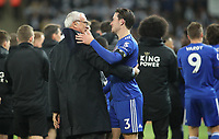 Leicester City's ex Manager Claudio Ranieri with Leicester City's Ben Chilwell<br /> <br /> Photographer Rachel Holborn/CameraSport<br /> <br /> The Premier League - Saturday 10th November 2018 - Leicester City v Burnley - King Power Stadium - Leicester<br /> <br /> World Copyright &copy; 2018 CameraSport. All rights reserved. 43 Linden Ave. Countesthorpe. Leicester. England. LE8 5PG - Tel: +44 (0) 116 277 4147 - admin@camerasport.com - www.camerasport.com