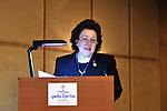 "DJERBA - TUNISIA - 13 March 2012 -- European Training Foundation (ETF) / Tunisian Ministry of Vocational Training and Employment (MFPE) Project Launch -  ""Human Capital for Regional Socio-Economic Development (Medenine, Tunisia)"". --  Madlen SERBAN, ETF Director  -- PHOTO: Lindsay MACKENZIE / EUP-IMAGES."