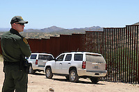 Arizona Border Patrol - U.S.-Mexico Border - Sasabe, Arizona