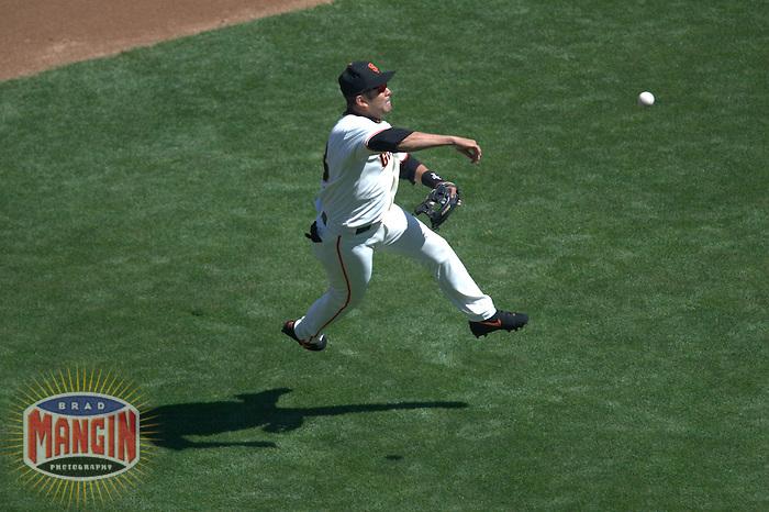 Edgardo Alfonzo. Baseball: Milwaukee Brewers vs San Francisco Giants. San Francisco, CA 9/14/2003 MANDATORY CREDIT: Brad Mangin