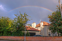 Rainbow, Dorchester Park, Belfast, N Ireland, 201809064561<br />