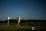 STILLWATER, OK - MAY 21: Jennifer Kupcho of Wake Forest tees off on the 17th hole during the Division I Women's Golf Individual Championship held at the Karsten Creek Golf Club on May 21, 2018 in Stillwater, Oklahoma. (Photo by Shane Bevel/NCAA Photos via Getty Images)