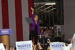 Elizabeth Warren on Washington Sq. Park