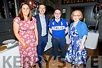 Enjoying the CH Chemist Summer party in the Ashe Hotel on Saturday night<br /> L to r: Martina Dillon, Peter Harty, Michael Quinn and Helena Sankar