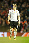 Bastian Schweinsteiger of Manchester United during the UEFA Europa League match at Anfield. Photo credit should read: Philip Oldham/Sportimage