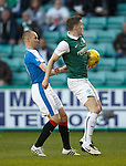 Paul Hanlon handles in the box but ref sees no penalty