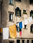 Clothesline, Venice, Italy.