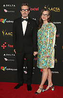05 January 2018 - Hollywood, California - Gary Oldman, Gisele Schmidt. 7th AACTA International Awards held at Avalon Hollywood.  <br /> CAP/ADM/FS<br /> &copy;FS/ADM/Capital Pictures