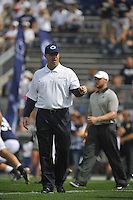 01 September 2012:  Penn State coach Bill O'Brien..The Ohio Bobcats defeated the Penn State Nittany Lions 24-14 at Beaver Stadium in State College, PA..