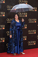 Meera Syal arriving for the Olivier Awards 2018 at the Royal Albert Hall, London, UK. <br /> 08 April  2018<br /> Picture: Steve Vas/Featureflash/SilverHub 0208 004 5359 sales@silverhubmedia.com