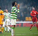 12/12/2009  Copyright  Pic : James Stewart.sct_jspa27_motherwell v celtic  . :: ANOTHER MISSED CHANCE BY GEORGIOS SAMARAS :: .James Stewart Photography 19 Carronlea Drive, Falkirk. FK2 8DN      Vat Reg No. 607 6932 25.Telephone      : +44 (0)1324 570291 .Mobile              : +44 (0)7721 416997.E-mail  :  jim@jspa.co.uk.If you require further information then contact Jim Stewart on any of the numbers above.........