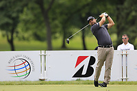 Ryan Moore (USA) tees off the 3rd tee during Sunday's Final Round of the WGC Bridgestone Invitational 2017 held at Firestone Country Club, Akron, USA. 6th August 2017.<br /> Picture: Eoin Clarke | Golffile<br /> <br /> <br /> All photos usage must carry mandatory copyright credit (&copy; Golffile | Eoin Clarke)