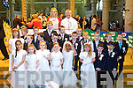 Pupils of CBS National School who received their First Holy Communion at Saint Johns Church, Tralee on Saturday