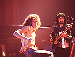 The Who 1973  Roger Daltrey and John Entwistle.© Chris Walter.