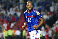 Thierry Henry of France reacts during the European Championship football match between France and England. France won 2-1 over England .<br /> Lisbon 13/6/2004 Estadio da Luz <br /> Photo Andrea Staccioli Insidefoto