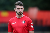 Ben Dempsey of Charlton Athletic ahead of kick-off during Welling United vs Charlton Athletic, Friendly Match Football at the Park View Road Ground on 13th July 2019