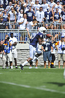 07 September 2013:  Penn State WR Allen Robinson (8) catches a long touchdown pass during the second half. The Penn State Nittany Lions defeated the Eastern Michigan Eagles 45-7 at Beaver Stadium in State College, PA.