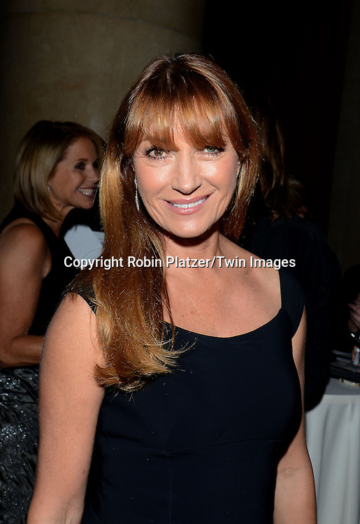 Jane Seymour attends the 31st Annual Night of Stars &quot;The Protagonists&quot;<br /> presented by The Fashion Grouip International on October 23, 2014 at Cipriani Wall Street in New York City. <br /> <br /> photo by Robin Platzer/Twin Images<br />  <br /> phone number 212-935-0770