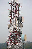 Communications mast Bilbao, Spain....Copyright..John Eveson,.Dinkling Green Farm,.Whitewell,.Clitheroe,.Lancashire..BB7 3BN.Tel. 01995 61280.Mobile 07973 482705.j.r.eveson@btinternet.com.www.johneveson.com