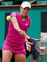 30-05-10, Tennis, France, Paris, Roland Garros,  Justine Henin