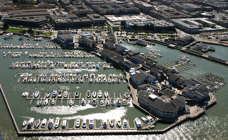 October 16, 2005; San Francisco, CA, USA; Aerial view of Pier 39 at Fisherman's Wharf in San Francisco, CA. Photo by: Phillip Carter