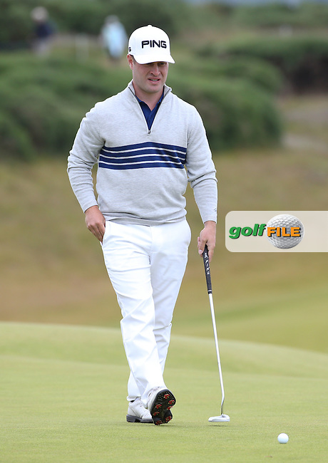 David Lingmerth (SWE) during Round One of the 2016 Aberdeen Asset Management Scottish Open, played at Castle Stuart Golf Club, Inverness, Scotland. 07/07/2016. Picture: David Lloyd   Golffile.<br /> <br /> All photos usage must carry mandatory copyright credit (&copy; Golffile   David Lloyd)