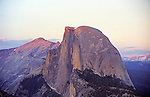 Half Dome on a summer's evening.