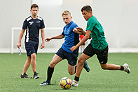2018 07 02 College football training, Cardiff, UK