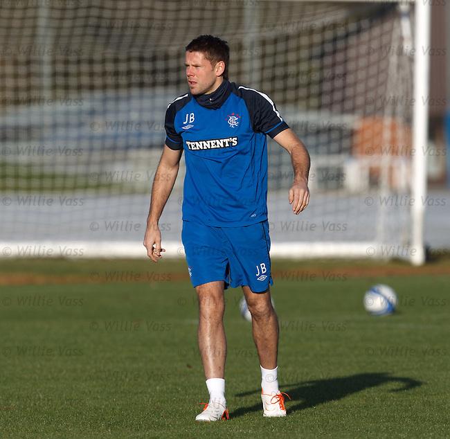 James Beattie back at training