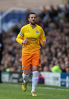 Paul Hayes of Wycombe Wanderers during the Sky Bet League 2 match between Portsmouth and Wycombe Wanderers at Fratton Park, Portsmouth, England on 23 April 2016. Photo by Andy Rowland.