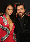 """Karen Olivo and Tam Mutu attends the Broadway Opening Night performance After Party for """"Moulin Rouge! The Musical"""" at the Hammerstein Ballroom on July 25, 2019 in New York City."""